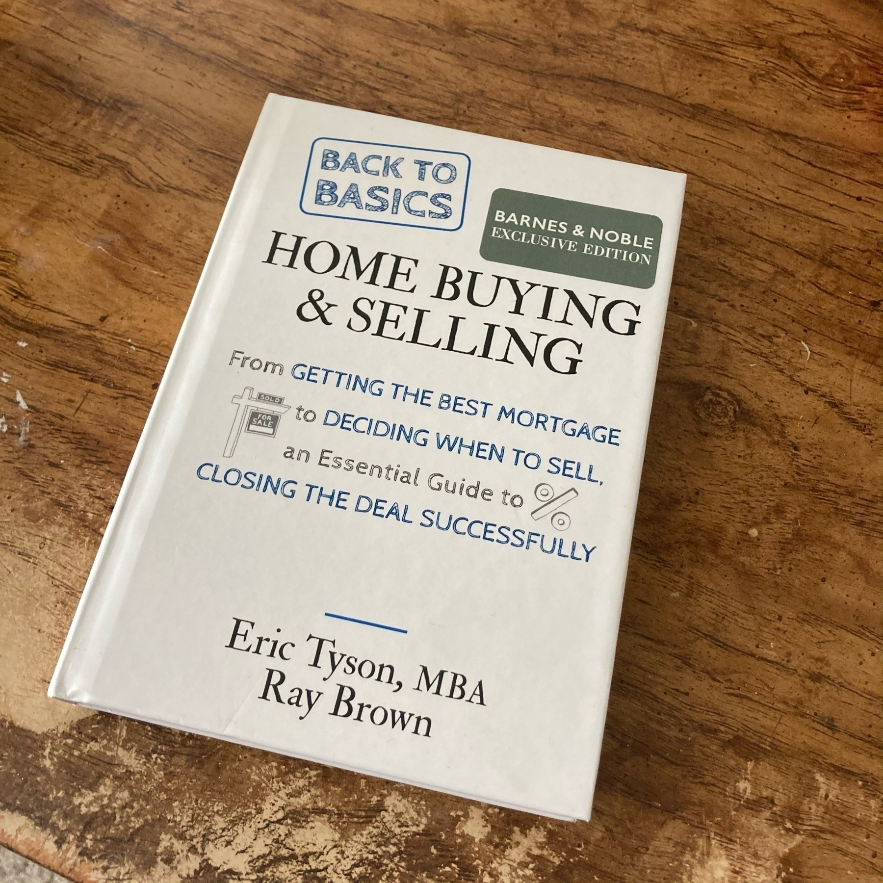 Book on basics for home buying.