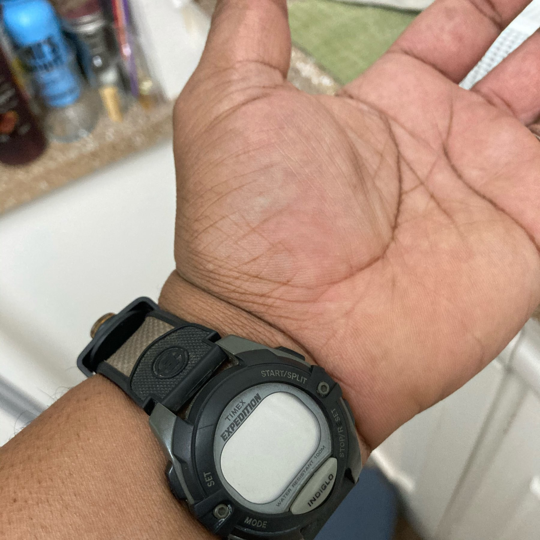 Watch with no display.