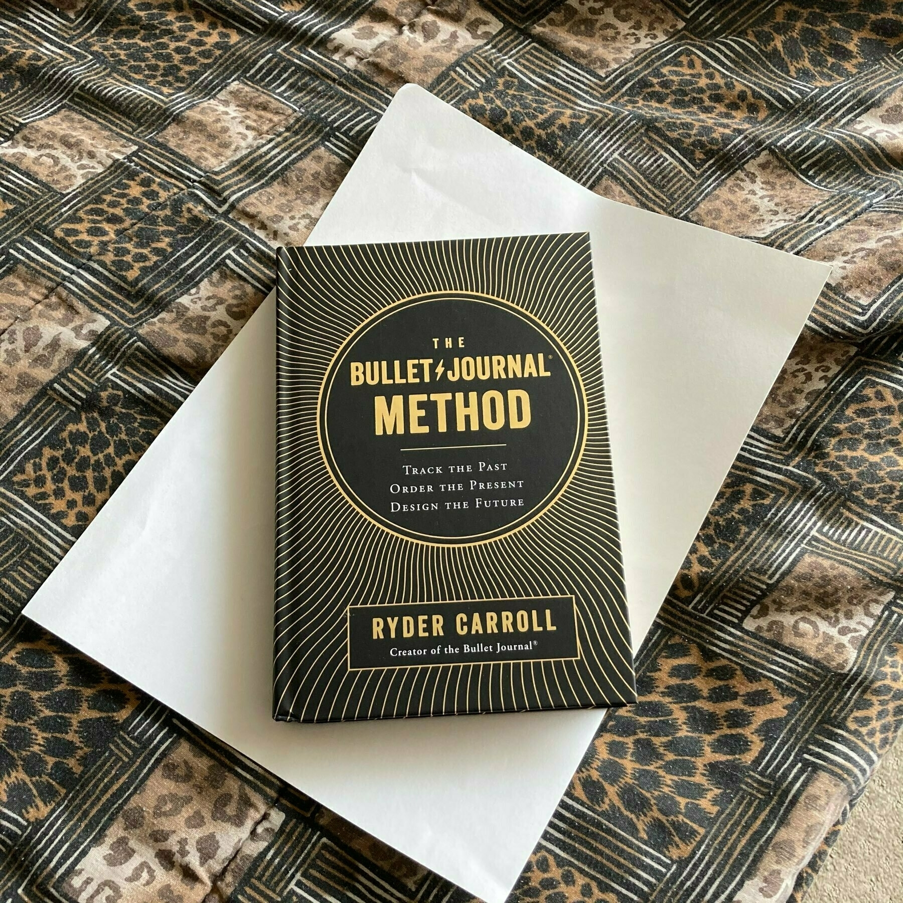 The bullet Journal book.