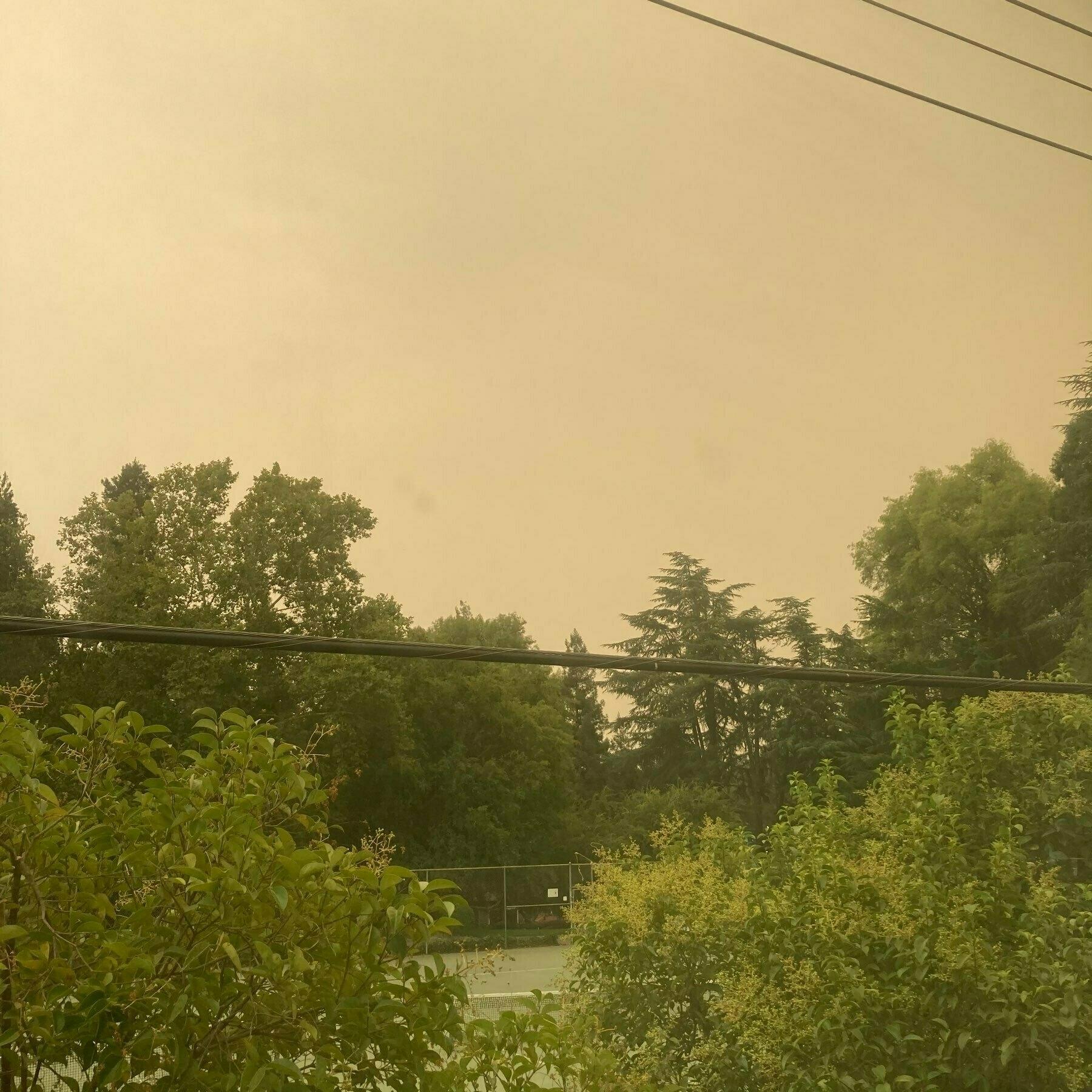 Sky outside my window.