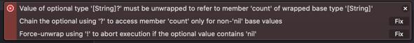 Error in Xcode.