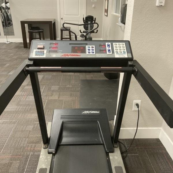 Old treadmill.
