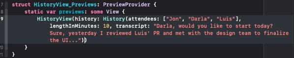 Long code line in Xcode